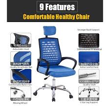comfortable home office chair. Interesting Office C912  C812 Adjustable Seat Height Ergonomic Large Mesh Comfort Home  Office Chair Kerusi Pejabat In Comfortable S