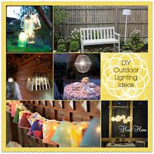 diy outdoor party lighting. Outdoor Lighting Ideas Diy Party