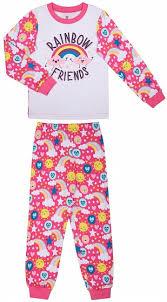 <b>Пижама</b> для девочки <b>Barkito Сновидения</b>, розовая с белым ...