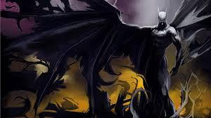 batman cartoon superhero