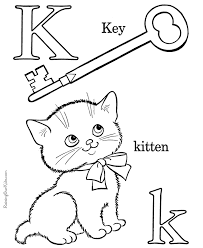 These fun alphabet coloring pages are a great way to practice writing letters as well as learning letter sounds. Coloring Book Letters Coloring Home
