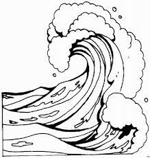 Cara menggambar bencana tsunami   how to draw tsunami disaster terus dukung sanggar lukis pelangi agar bisa terus membuat. Dibujos Para Colorear De Tsunamis Sketch Coloring Page Ex Libris Wave Drawing Waves