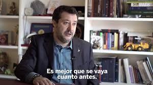 La polemica per l'intervista di Salvini a El Pais sul coronavirus -  Lettera43