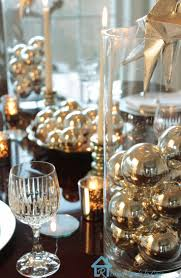 A Last Minute New Year's Eve Tablescape