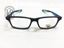 nike flexon 7092 blue frame kacamata
