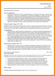 6 Technical Project Manager Resume Letter Signature