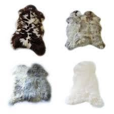 single pelt sheepskin rugs