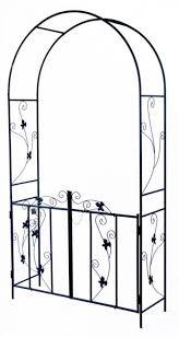 woodside decorative metal garden arch