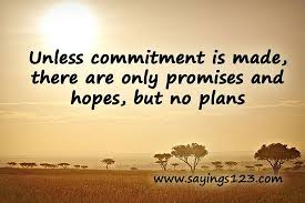 commitment quotes, wise, deep, sayings, hopes, pics | Favimages ... via Relatably.com