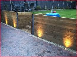solar fence lights uk finding best garden wall lights ideas on