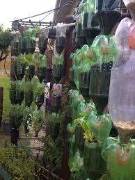 Recycling Plastic Bottles Build Your Own Hanging Garden Of Recycled Plastic Bottles Dengarden