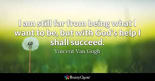 Vincent Van Gogh Quotes Adorable Vincent Van Gogh Quotes BrainyQuote