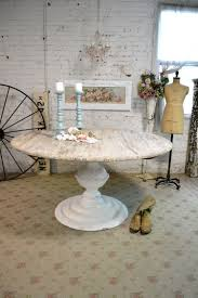 Shabby Chic Round Kitchen Table Painted Cottage Dining Table