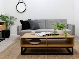 Image Modern Mocka Urban Coffee Table Black With Ruby Rug Astird Mirror And Frankie Basket Mocka Urban Coffee Table Living Room Furniture Mocka Au