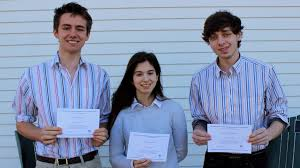 three seniors d national merit scholarship finalists rocky  three seniors d national merit scholarship finalists