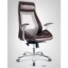 leather office chair modern. High Quality Ergonomic Swivel Brown Leather Office Chairs / Modern Conference Meeting Room Chair
