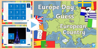 Cfe First Level Europe Day Guess The European Country