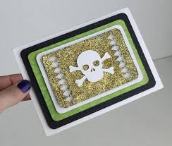 Card is a standard a2 size (4.25″w x 5.5″ tall). Glitter Halloween Card Svg Tutorial For Silhouette Minilou