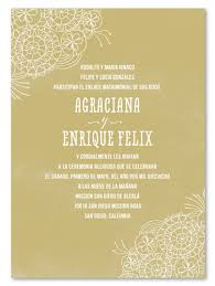 mexican wedding invitations. mexican wedding invitations - senora cordones (laces tres chic)