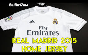 Adidas Real Madrid 201516 Home Soccer Jersey Unboxing + Review