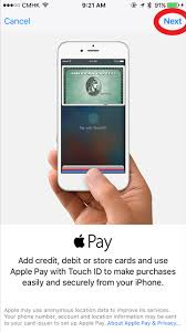 how to add your credit card to apple pay