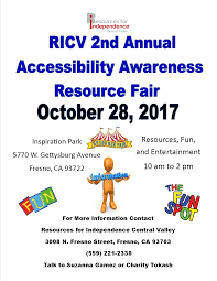 RICV 2nd Annual Accessibility Awareness Resource Fair \u2013 ValleyPBS