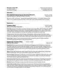 Service Writer Resume Resume Cover Letter
