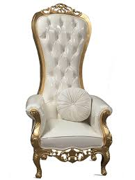 luxe throne chair image the luxe throne chair with throw