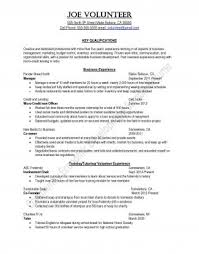 sample resume resume samples uva career center