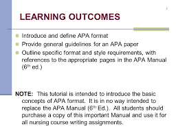 Basic Apa Style The Basics Of Apa Format Ppt Video Online Download