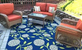 Blue Outdoor Carpet Lovely Rug And Green Best