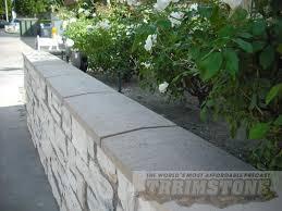 trrimstone wall cap