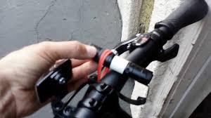 Diy Light Mount Bike Light Road Bicycle Diy Easy Do It Yourself W Flashlight