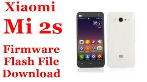 Xiaomi Mi 2s Firmware Flash File ...