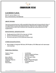 Best Resume Format For Freshers Ideas Collection Good Resume Format