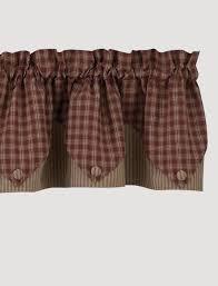 Park Designs Curtains And Valances Sturbridge Point Valance Wine