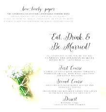 Word Restaurant Menu Templates Elegant Wedding Menu Templates Wedding Menu Card Template Download