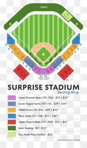 Surprise Stadium Seating Chart Triangle Circle Point Surprise Png Download 546 582
