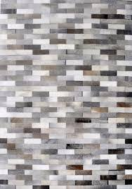 hair on cowhide m71 leather rug contemporary area rugs by modernrugs