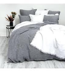 cotton chambray linen duvet set super king comforter nz decorations in spanish name