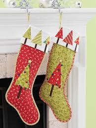 Quilted Christmas Stocking Pattern Custom Quilt Inspiration Free Pattern Day Christmas Stockings