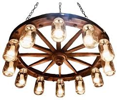36 diameter knotted wagon wheel chandelier eclectic chandeliers by rustic lighting concepts design llc