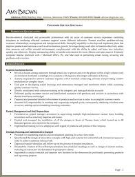 Customer Service Specialist Customer Service Specialist Resume Example