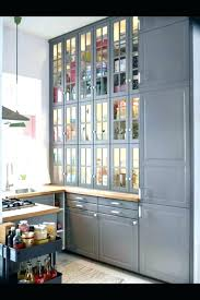 horizontal kitchen cabinets wall cabinet glass door white off design