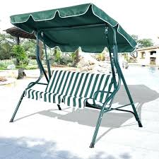 swings canopy swing cover patio covers black polished wrought iron based outdoor garden replacement for