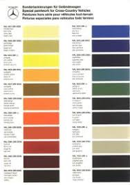 Vw Spring Color Chart Vw Spring Color Chart A4 B8 S