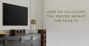 how to calculate the proper height for