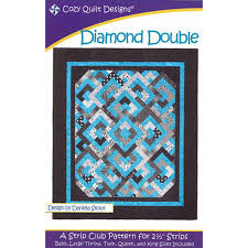 Diamond Double Quilt Pattern by Cozy Quilt Designs | Pattern ... & Diamond Double Quilt Pattern by Cozy Quilt Designs Adamdwight.com