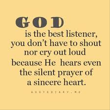 God Is The Best Listener Quotes A Day Adorable Famous Quotes About God