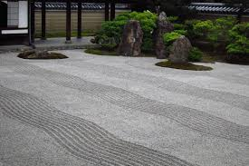 Small Picture Round of the Seasons in Japan Zen Meditation Room and Dry Garden